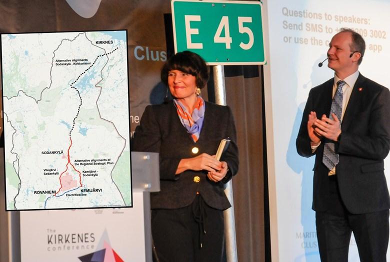Finland vil utrede Kirkenes som jernbanemål