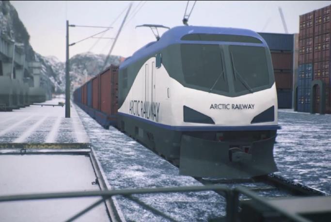 Arktisk jernbanevisjon et steg nærmere