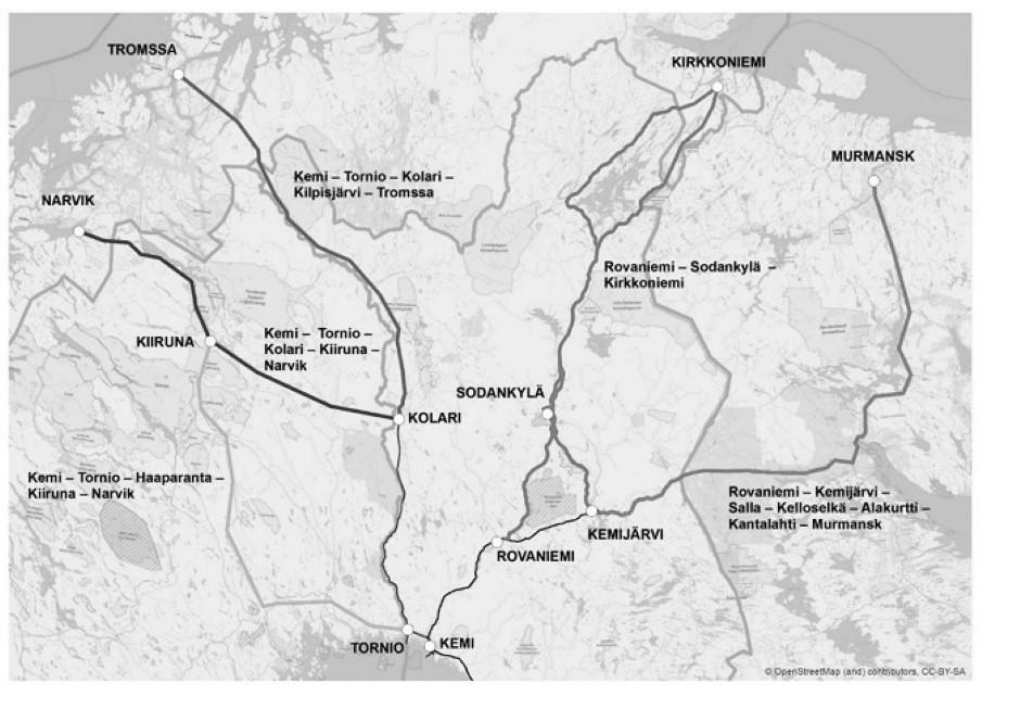 Vil utrede Rovaniemi - Kirkenes videre