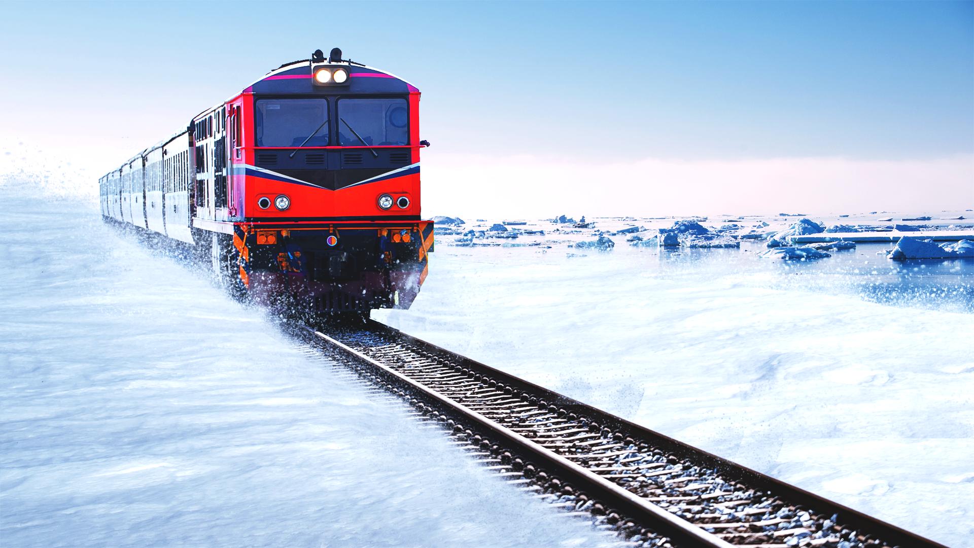 Norge og Finland er enige: Jernbanen til Kirkenes er mest realistisk!