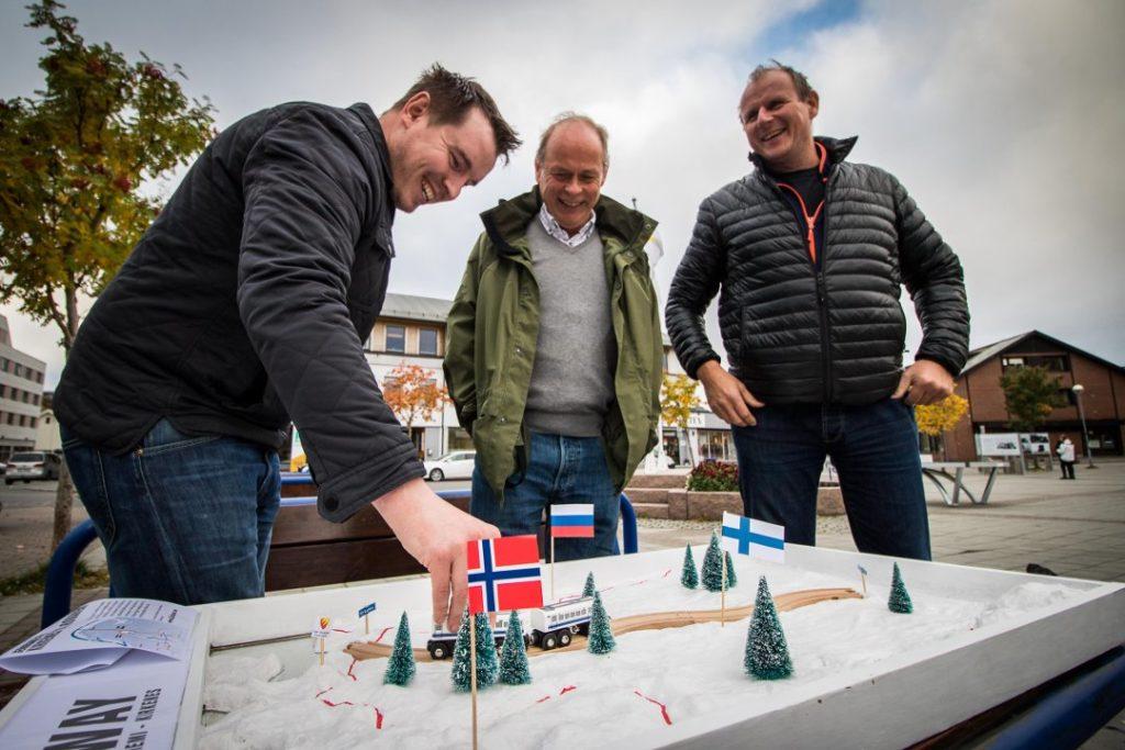 Jernbanen hit er allerede tegnet inn på kinesisk kart – og ligger an til å få norske penger