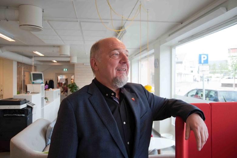 Ordfører Rune Rafaelsen mener Kirkenes er det naturlig valget for den arktiske jernbanen