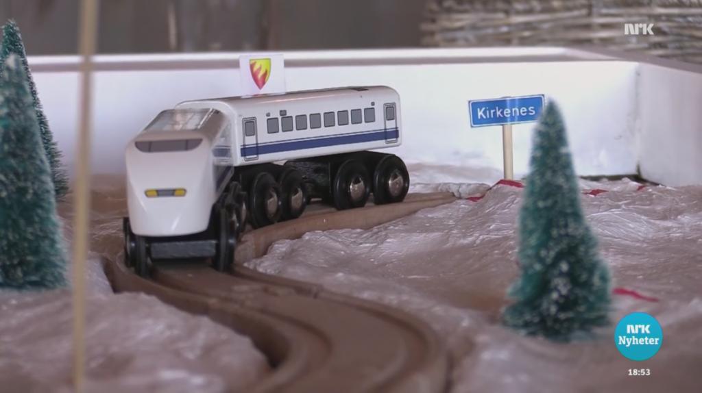 Arbeidsmøte om jernbane til Kirkenes