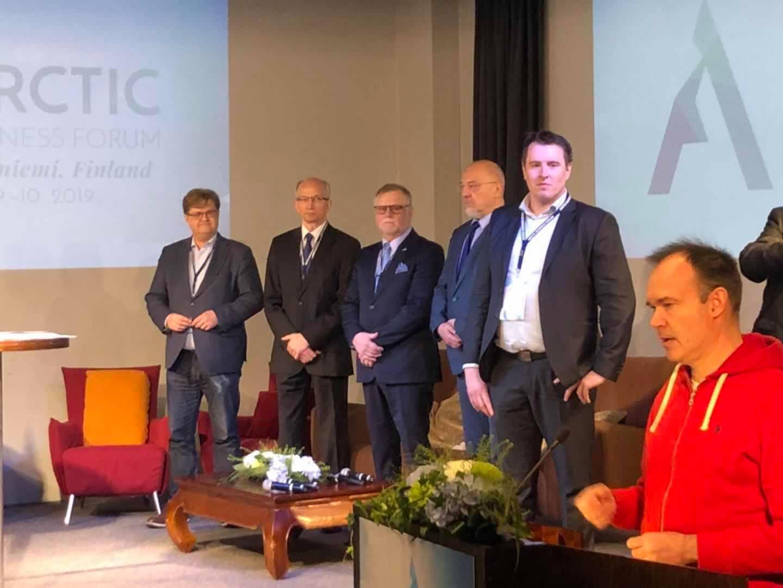 """Avtale om planlegging og utvikling av den """"Arktiske jernbane»"""