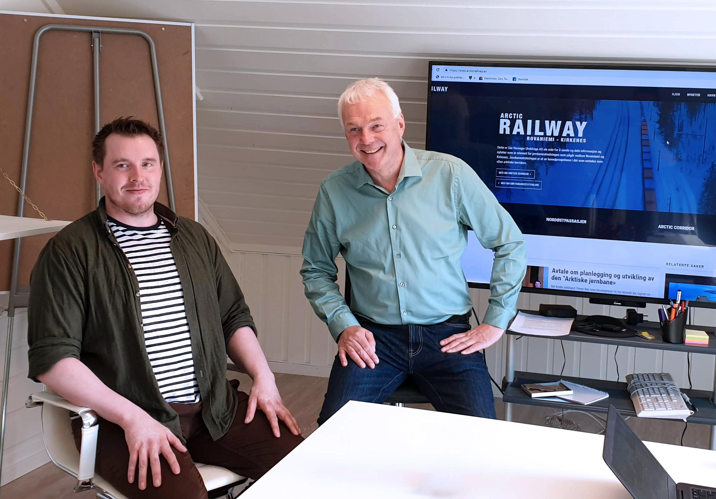 Kan få million-støtte til jernbane